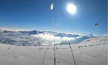 Dar - snowkite video