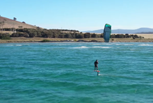 Team Naish kiteboarding Roadtrip v Tasmánii