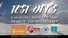 Col Du Lautaret Snowkite Test days 6.-16. 3. 2020