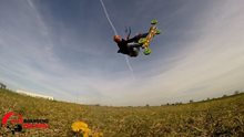 QUICK shot SLATINA - low wind landkiting