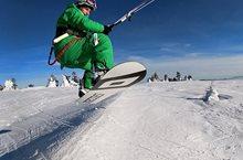 Jak dlouhý snowkiteboard potřebuji?