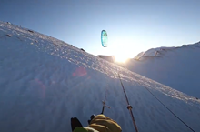 Flysurfer snowkiting video Dormillouse