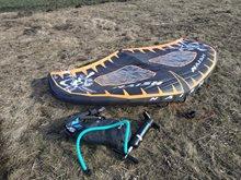 Velkonočný wing longboarding