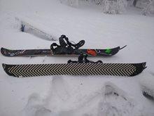 Split snowboard vs skialpy