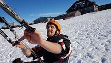 HARAKIRI snowkiting centrum Boží Dar - Klínovec