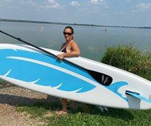 Test nejlehčího paddleboardu 7kg - INDIANA Feather