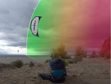 Jak s kitem zvládnout silný vítr