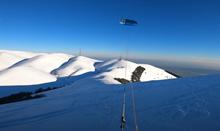 Itálie - snowkite spot Monte Orsere