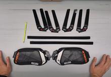 Jak vyměnit výztuhy na kiteboarding vázání Nobile IFS Next