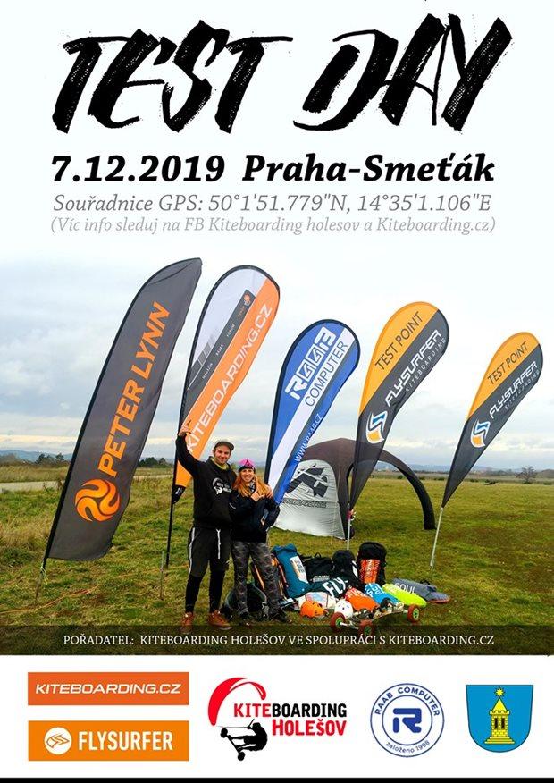 Kiteboarding.cz + Holešov Test day Praha 2019