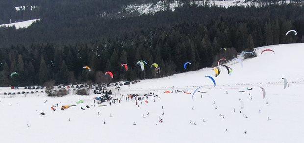 Orava Snowkite Challenge 2021 - race