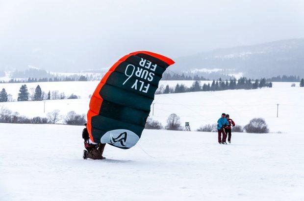 Orava Snowkite Challenge 2021 - school
