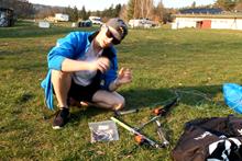 CC update kit na kite bar Flysurfer Infinyty 3.0 - návod
