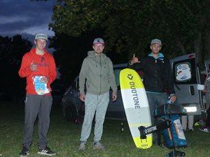 ČP v kiteboardingu Rozkoš HF race - stupně vítězů