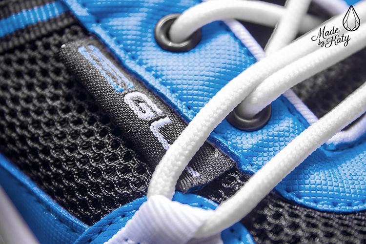 gul aqua grip shoe - tkanicky detail
