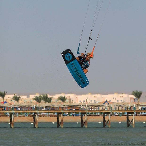 Jak se neztratit na moři - kiteboarding v Egyptě - skoky
