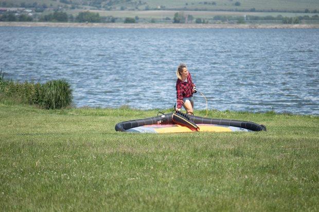 První seznámení s NAISH WING-SURFER - příprava wingu