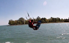Velikonoční Balaton - Mushow kitesurfing