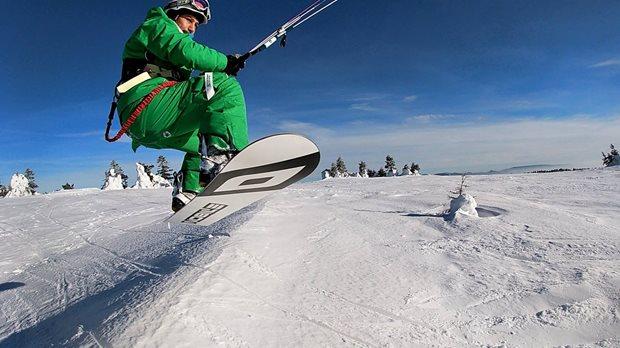 Jak dlouhý snowkiteboard potřebuji - freeride / freestyle univerzál Nobile NHP