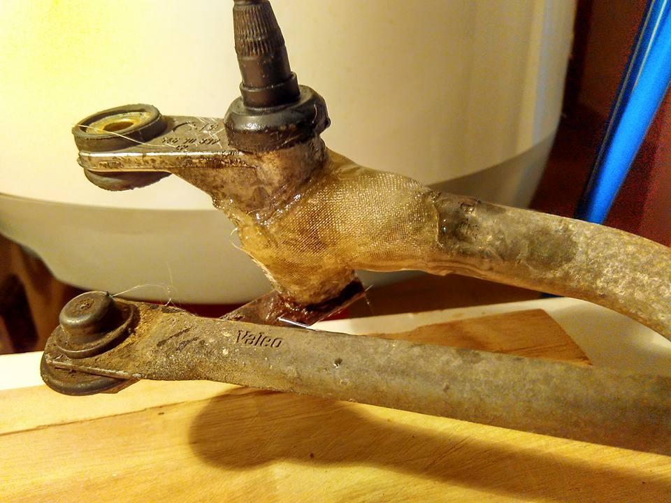 kite dovolená - epoxy oprava