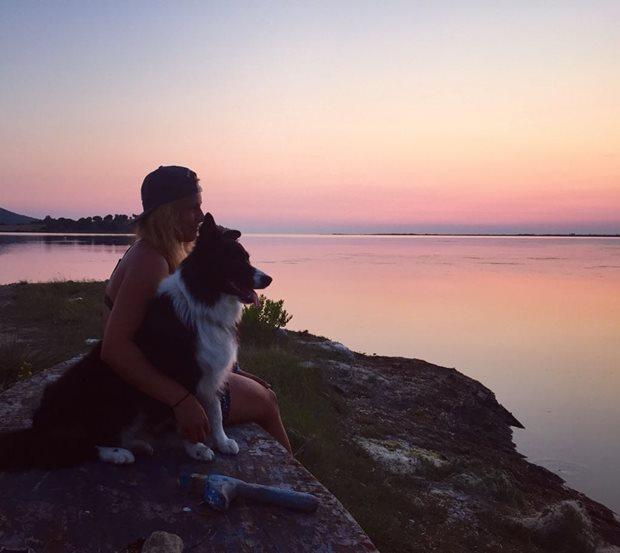 Kiteboarding a pes - jsme spolu