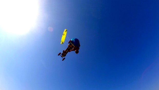 Landkiting flysurfer Speed5 - airstyle