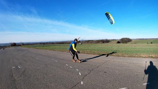 Kite Flysurfer Peak4 13m - no wind