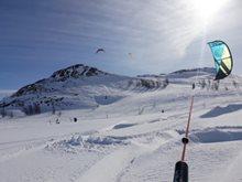 Norský snowkitový ráj tentokrát trochu jinak