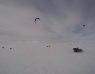 snowkite zahrab - spot Hardangervidda