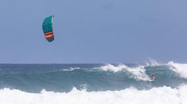 Kitesurfing vawe