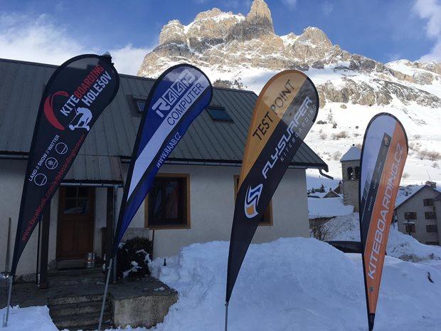 Col DU Lautaret - snowkite camp Kiteboarding Holešov