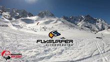 Col du Lautaret snowkite trip - behind the scenes