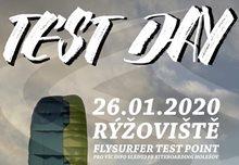 Kite testovačka Rýžoviště 26. 1. 2020