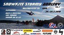 Snowkite MČR 2018 - Stormy Adolfov 24. - 25. 2. Změna lokality!