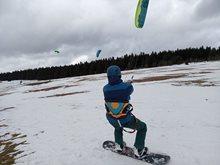 Snowkiting - ideální příprava pro kitesurfing
