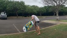 Pevný nebo nafukovací board na wing-surfing?