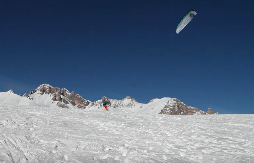 SKD snow kite camp movie
