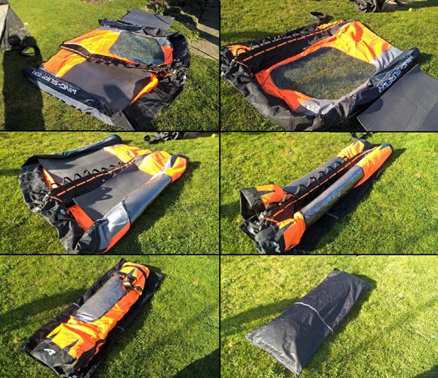 Jak balit wing-surfer - návod by Hadrák