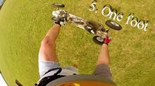 Škola triků - One foot - landkiting