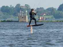 První hydrofoiling - jak to probíhalo