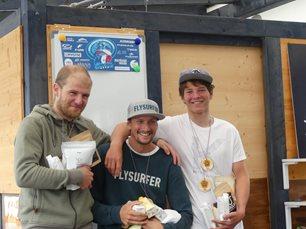 Kite-hydrofoil závody Lipno 20. - 21. června - vítězové muži