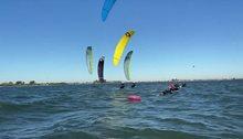 Kite-foiling soustředění USA