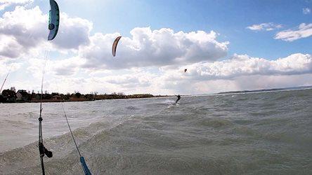 Kitesurfing - První zářez