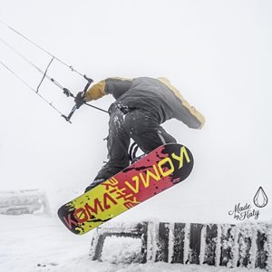 Snowkiting KOMA 01.02.2014