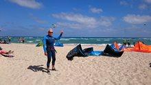 Kitesurfing - Pozdrav z Kapverd-