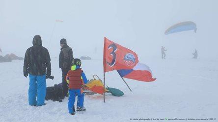 Snowkiting - Moldava 2020