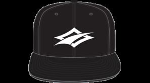 kšiltovka NAISH Headwear Diamond Snapback - černá