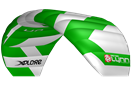 kite Peter Lynn Xplore Green