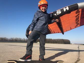 Wing-boarding - Ostrava Mošnov a Hrabyně a wing-skate-boarding
