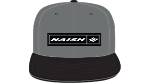 kšiltovka NAISH Headwear Rectangle Patch Snapback - šedá